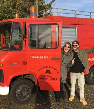 De Rugzakkies   Van wereldreis naar brandweer bus!