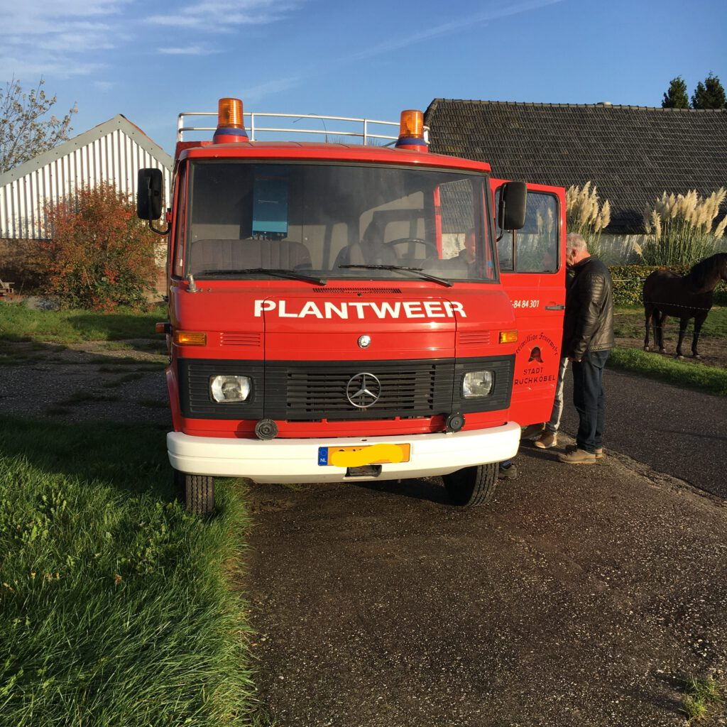 Onze Brandweer Bus