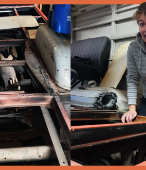 Stap 3 | Een vloer leggen in onze camperbus Brumm!